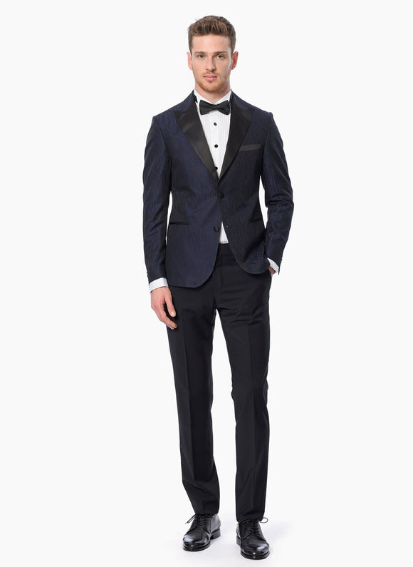 14562 Navy Blue Tuxedo Suit For Men Men's Suit South Africa