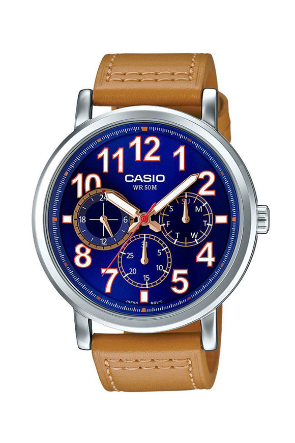 Casio Unisex Watch MTP-E309L-2B2VDF