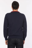 5112104 Navy Blue Zip Sweater