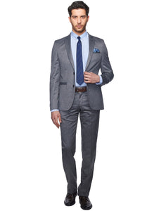 2410144 Grey Slim Fit Suit