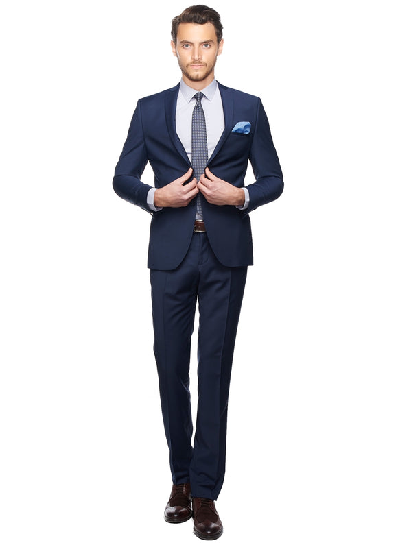 2410126 Navy Slim Fit Suit