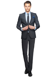 2410124 Grey Slim Fit Suit