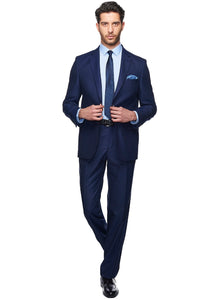 2410025 Navy Regular Fit Suit
