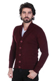 5112019 Bordeaux Collar Cardigan