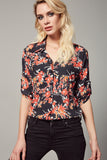 3010010 Multi Colour Floral Shirt