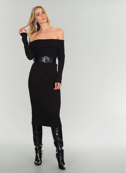 A639 Carmen Neck Dress
