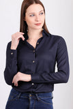 3010033 Dark Blue Long Sleeve Shirt
