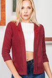 3510092 Bordeaux Double Arm Jacket