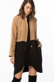 3510108 Black-Camel Coat