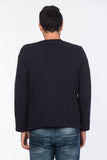 5112141 Navy Blue Zip Sweater
