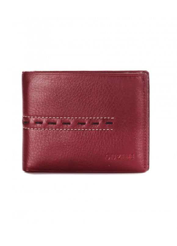 1Diate Men's Leather Wallet Burgundy 43039-804
