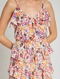 1212044 Fawn Tiered Summer Dress