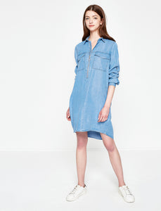 1212056 Indigo Denim Dress