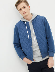 2010048 Blue Bomber Jacket
