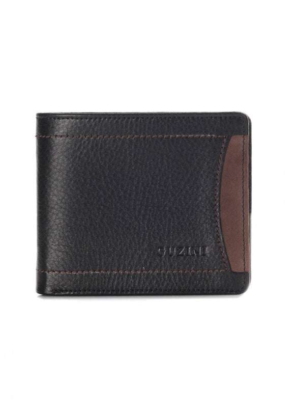 1Pasco Black-Brown Leather Wallet 43039-669
