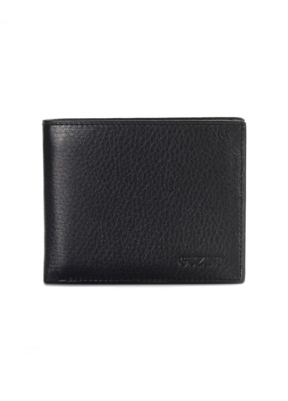 1Lane Black Leather Wallet 43039-683