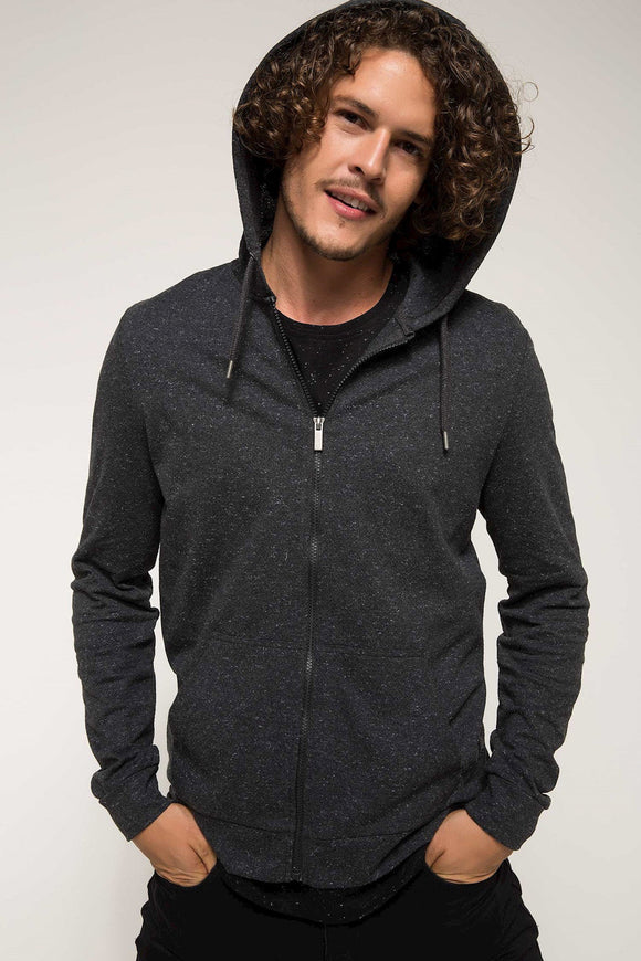 5112048 Grey Hooded Sweater
