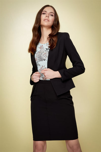 4688019 Black Tailored Jacket