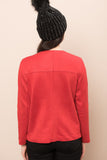 3510256 Red Suede Staple Jacket