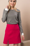 2910057 Fuschia Mini Pencil Skirt