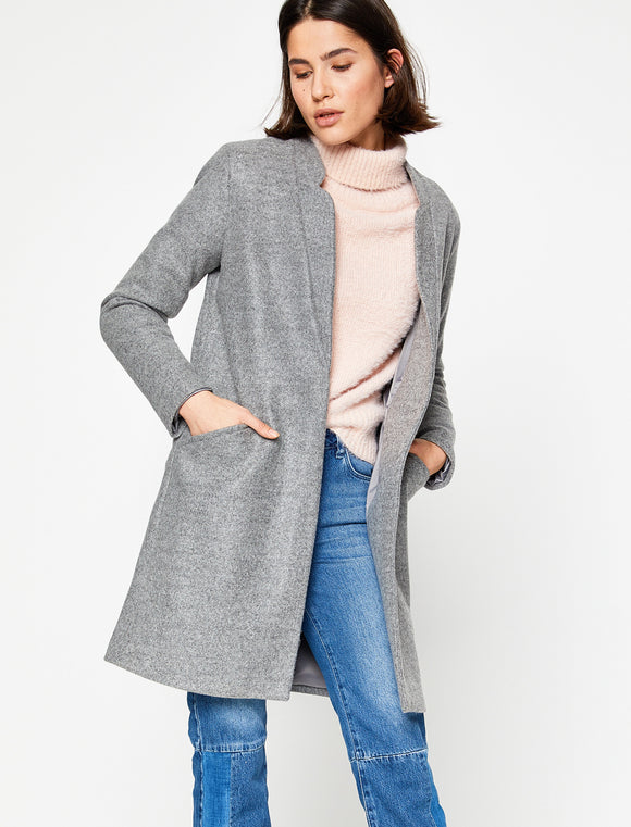 3530129 Grey Open Coat