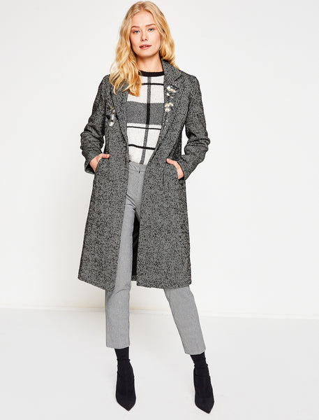 3530096 Black-Grey Coat