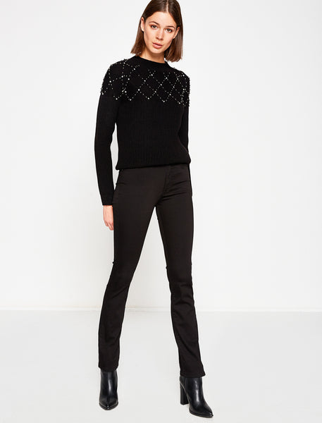 2942015 Black Slim Leg Pants