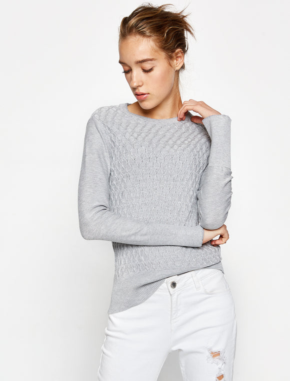 5011253 Grey Knitted Jumper