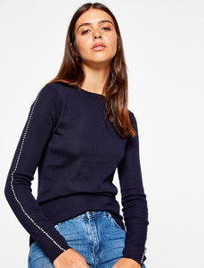 5011112 Navy Crew Neck Jumper