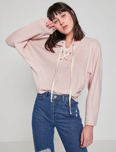 5011340 Pink Bat Sleeve Jumper