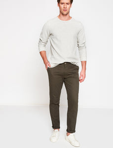 3110066 Medium Rise Chino Trousers
