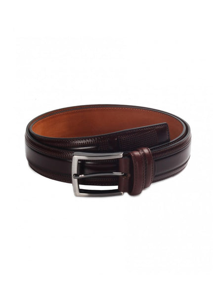 1Tobie Brown Leather Belt 43038-212