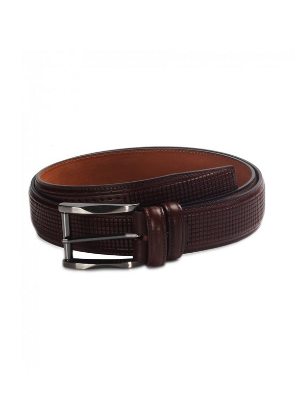 1Parsi Brown Leather Belt 43038-652