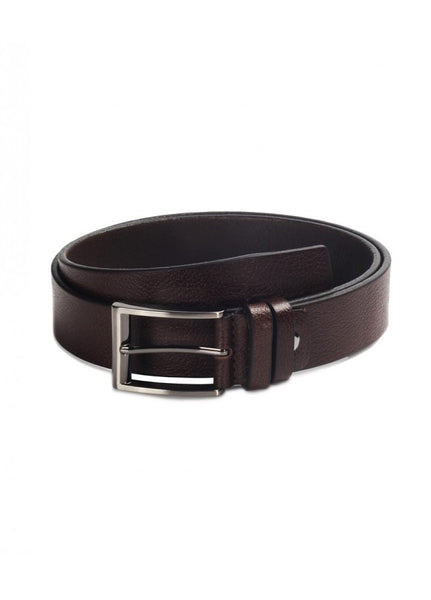 1Plain Sports Leather Belts Brown 43038-515