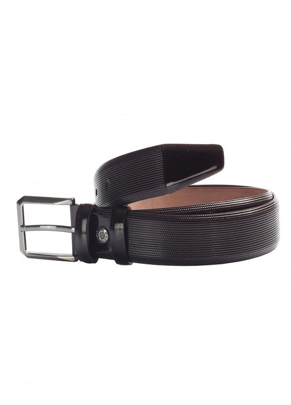 1Sleto Patent Leather Belt Brown 43038-540