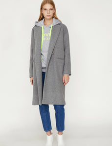 3503 Grey Double Breasted Coat