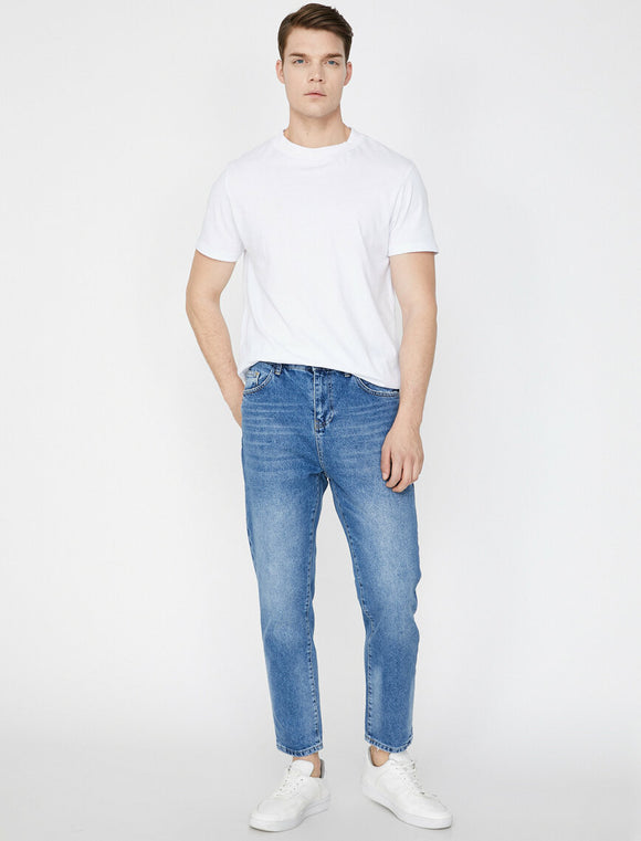 Slim Fit Jeans Blue