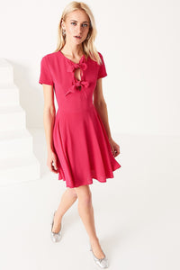 4510074 Fuschia Skater Dress