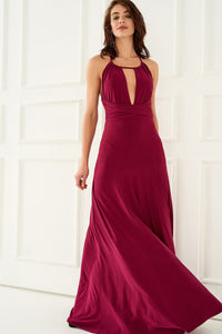 1310148 Cyclamen Chest Decolleted Dress