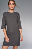 4510164 Khaki Shift Dress
