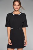 1210096 Black Casual Dress