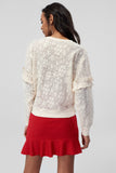 3020308 Beige Knitted Blouse