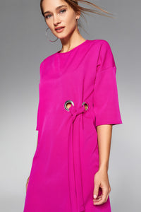 1210114 Fuschia Tent Dress