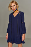 4510248 Navy Blue Tent Dress