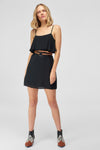 1210353 Black Slip Dress