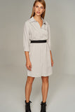 4510383 Grey Shirt Dress