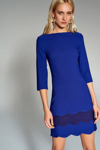 4510185 Blue-Purple Dress