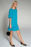 4510475 Green Tiered Dress