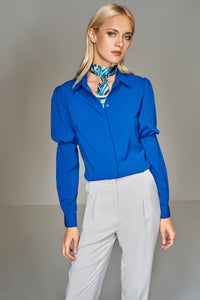 3010042 Blue Long Sleve Shirt