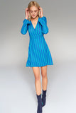 4510648 Blue Stripe Dress